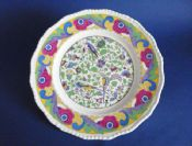 Superb Royal Doulton 'Persian A' Chintz Series Rack Plate c1938 D3700